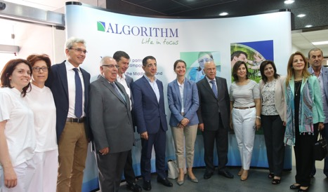 The Minister of Industry Mr. Hussein Hajj Hassan & The Ambassador & Head of the EU Delegation Mrs. Christina Markus Lassen visits Algorithm